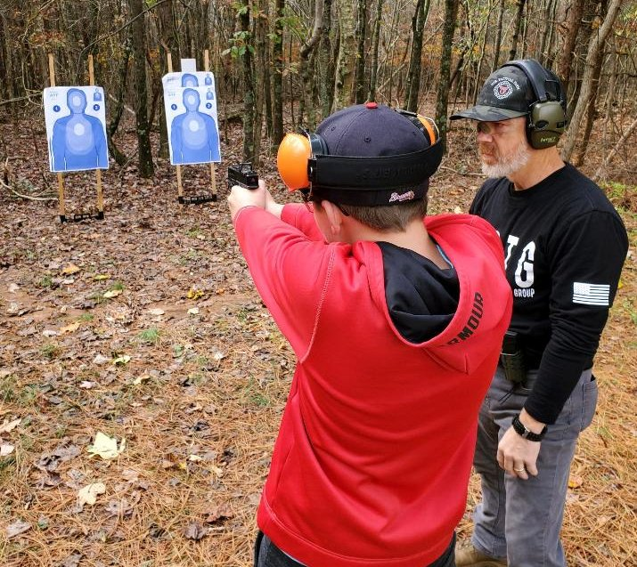 Black Rifle Training Group Instructor with Student