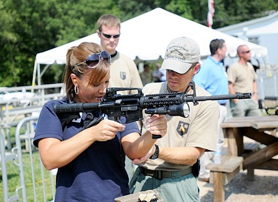 Rifle Instruction Between NRA Certified Instructor and Student